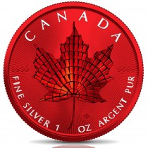 MAPLE LEAF MOSAIC Space Red...
