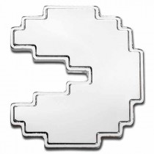 PAC-MAN 1 Oz Bullion Silver...