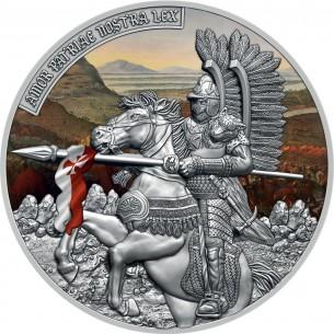 HUSSAR 2 Oz Silver Coin 5$...