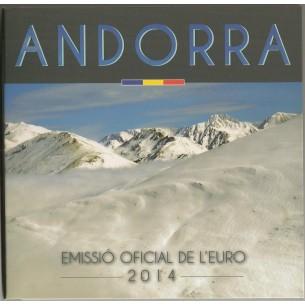 Andorre 2014 - Set Euro...