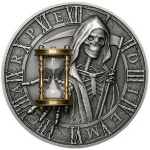 CARPE DIEM Grim Reaper...