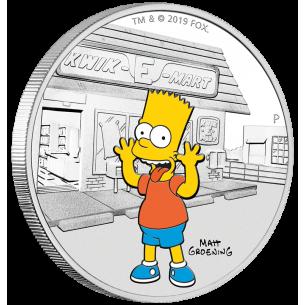 BART Simpsons 1 Oz Silver...