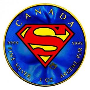 SUPERMAN Shield Maple Leaf...