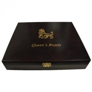 Wooden Case Box Queen's...