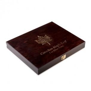 Wooden Case Maple Leaf 1 Oz...