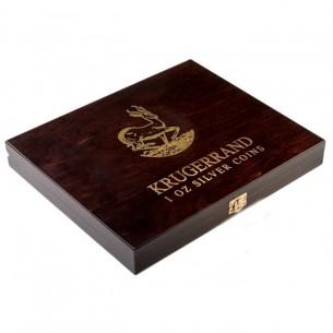 Wooden Case Krugerrand 1 Oz...