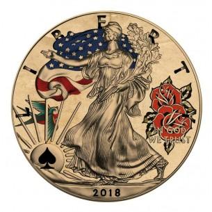 TATTOO FORTUNE USA 2018 1$...