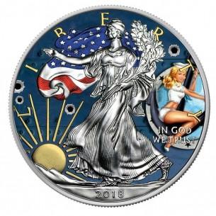 PIN UP SAILOR USA 2018 1$...