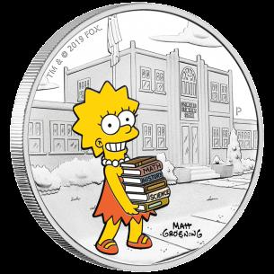 LISA Simpsons 1$ Tuvalu...