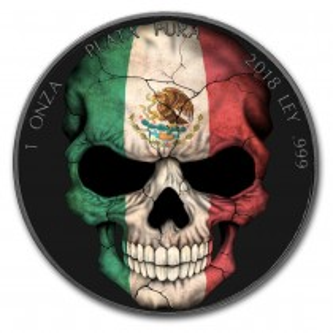 MEXICAN FLAG SKULL 1 Oz...