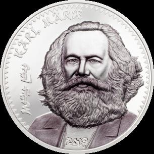 KARL MARX 1 Oz Silver Coin...