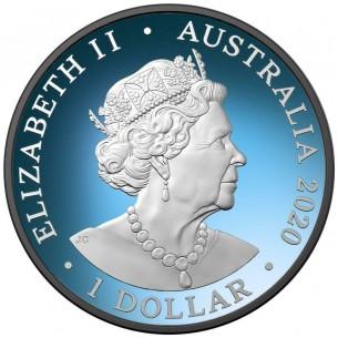 "Australia 2020 1$ RedBack Spider /""THE WORLD/"" 1 Oz Ruthenium Silver Coin"
