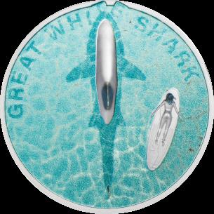 GREAT WHITE SHARK 1 Oz...