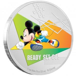 READY SET GO Mickey Mouse...