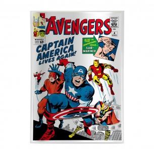 AVENGERS 4 Comic Book...
