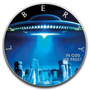 UFO STONEHENGE - 1 Oz...