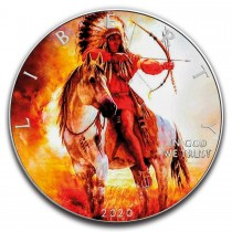 BOW AND ARROWS 1 Oz Silver...