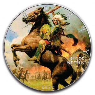 WAR PATH 1 Oz Silver...