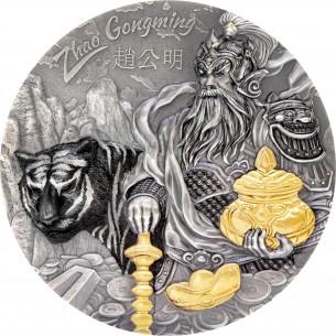 ZHAO GONGMING Gilded Asian...