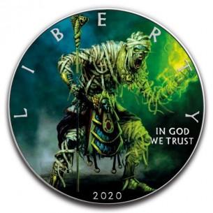GREEN MUMMY - 1 Oz Silver...