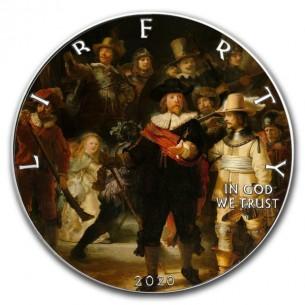 NIGHT WATCH Rembrandt 1 Oz...