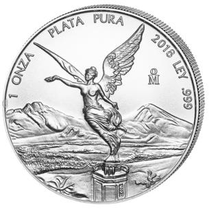 Mexico - 1 silver oz 2018 -...