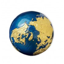 BLUE MARBLE Gold Plating...
