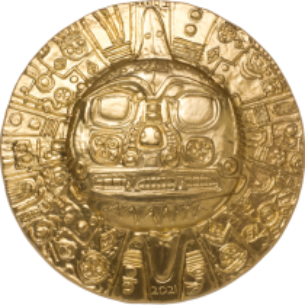 INCA Sun God 1 Oz Silver...