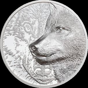 MYSTIC WOLF 1 Oz Silver...