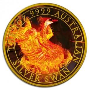 AUSTRALIAN SILVER BURNING...