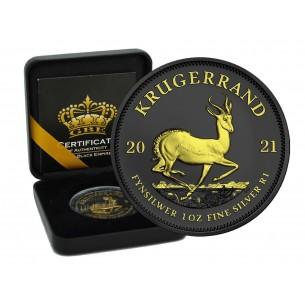 KRUGERRAND - GOLD BLACK...