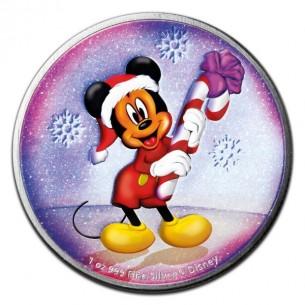 PURPLE CHRISTMAS Mickey...