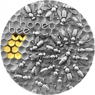 HONEY BEE 2 Oz Silver Coin...
