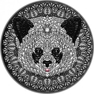 PANDA Mandala Art 2 Oz...