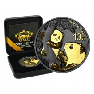 CHINESE PANDA - GOLD BLACK...