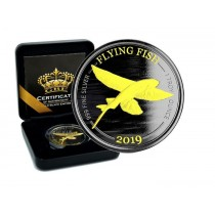 FLYING FISH - GOLD BLACK...