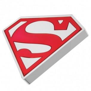 SUPERMAN LOGO 1 Oz Silver...