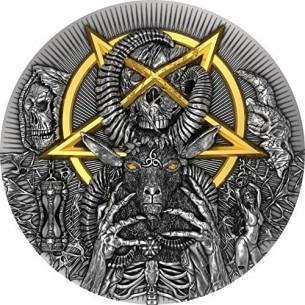 EVIL 2 Oz Silver Coin 2000...